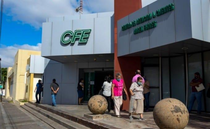 CFE Cortes en Sinaloa