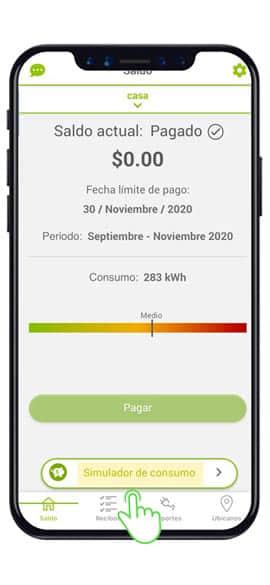 app-cfe-contigo-simulador consumo